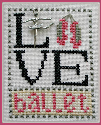 Love Ballet - Cross Stitch Pattern