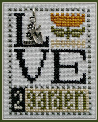 Love 2 Garden - Cross Stitch Pattern