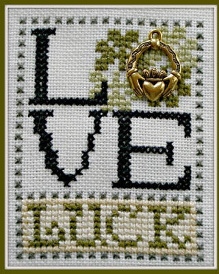 Love Luck - Cross Stitch Pattern