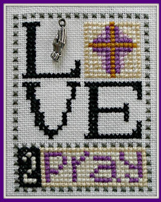 Love 2 Pray - Cross Stitch Pattern