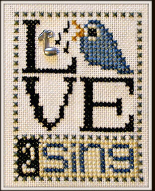 Love 2 Sing - Cross Stitch Pattern