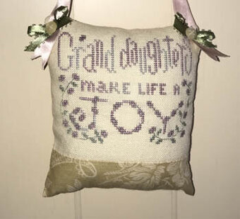 For My Granddaughters - Cross Stitch Pattern