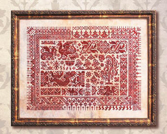 Dragons of Sumatra - Cross Stitch Pattern