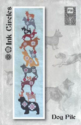 Dog Pile - Cross Stitch Pattern