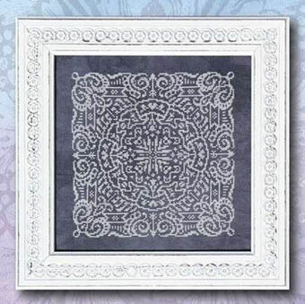 Chalkboard Mandala - Cross Stitch Pattern