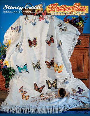 Butterflies Collectors Afghan - Cross Stitch Pattern