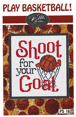 Play Basketball - Cross Stitch Pattern