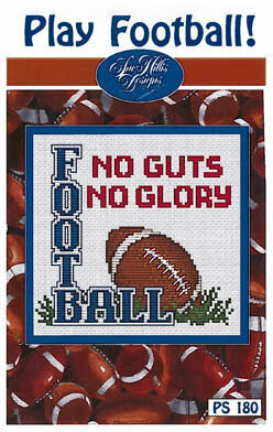Play Football! - Cross Stitch Pattern