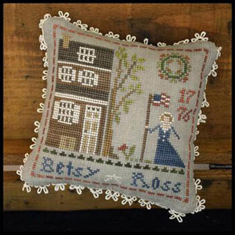Betsy Ross - Early American - Cross Stitch Pattern