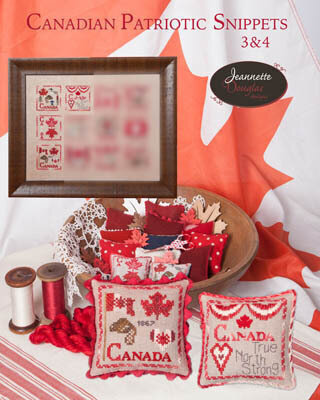 Canadian Patriotic Snippets Part 3 & 4 Cross Stitch Pattern