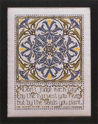 Morning Glory Sampler - Cross Stitch Pattern