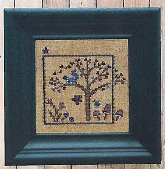 World of Color - Violet - Cross Stitch Pattern