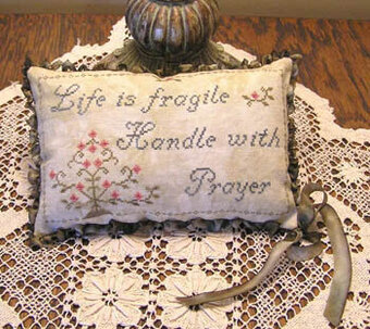 Life is Fragile - Cross Stitch Pattern