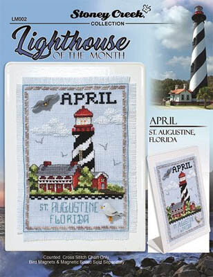Lighthouse of the Month - April - Cross Stitch Pattern