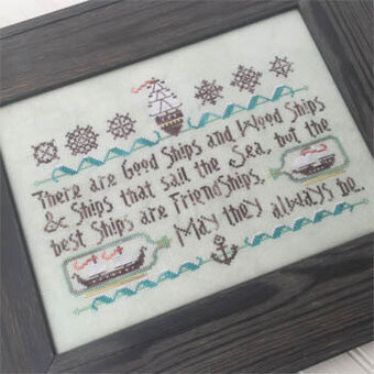 Good Ship Sampler - Cross Stitch Pattern