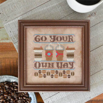 Go Your Own Way - Cross Stitch Pattern