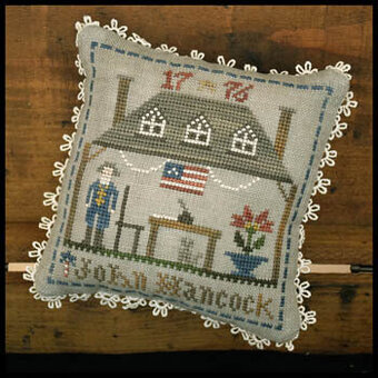 John Hancock - Early American - Cross Stitch Pattern