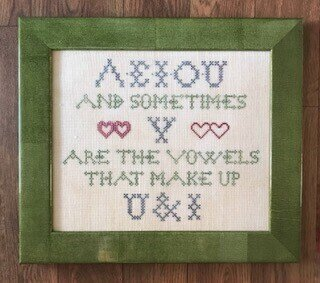 U & I - Cross Stitch Pattern