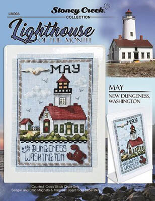 Lighthouse of the Month - May - Cross Stitch Pattern