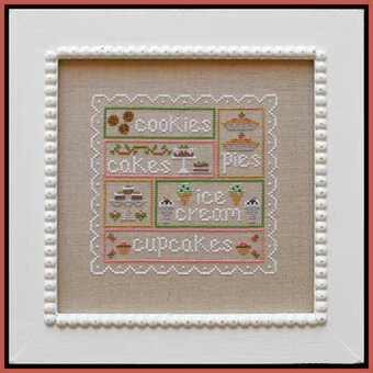 Sweet Sampler - Cross Stitch Pattern