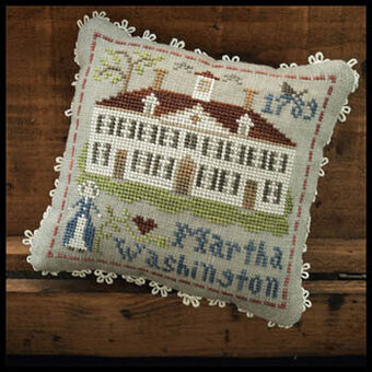 Martha Washington - Early American - Cross Stitch Pattern