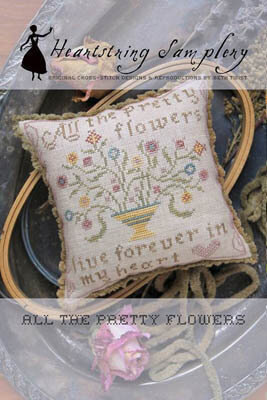 All the Pretty Flowers - Cross Stitch Pattern