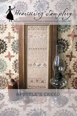 Apostle's Creed - Cross Stitch Pattern