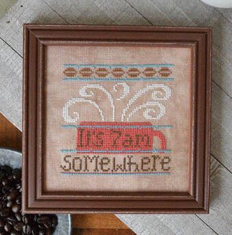 7am Somewhere - Cross Stitch Pattern