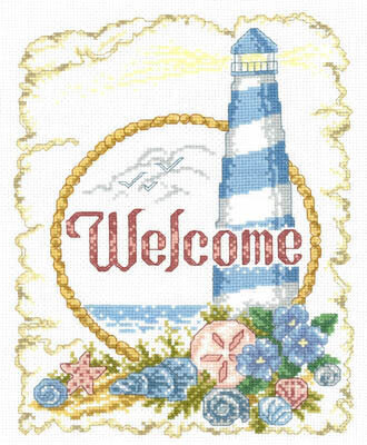 Coastal Welcome - Cross Stitch Pattern