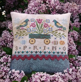 Seasons - Spring - Cross Stitch Pattern