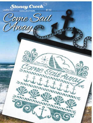 Come Sail Away - Cross Stitch Pattern