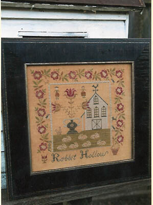 Rabbit Hollow Farm Sampler - Cross Stitch Pattern
