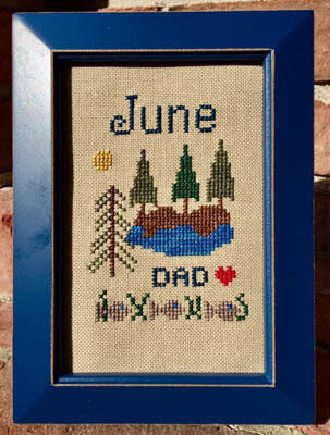 Bitty June - Cross Stitch Pattern