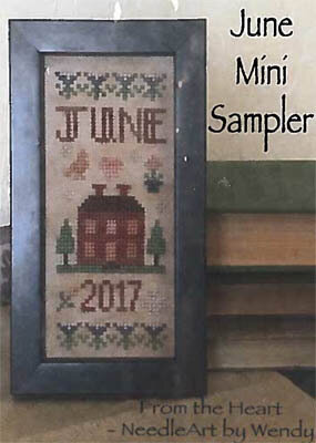 June Mini Sampler - Cross Stitch Pattern