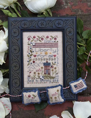 Liberty Notes - Cross Stitch Pattern