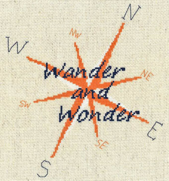 Wander and Wonder - Cross Stitch Pattern