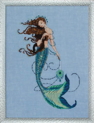 Renaissance Mermaid - Cross Stitch Pattern
