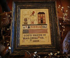 Glory Glory - Cross Stitch Pattern