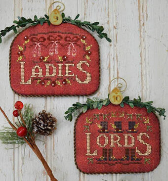 12 Days Ladies & Lords - Cross Stitch Pattern