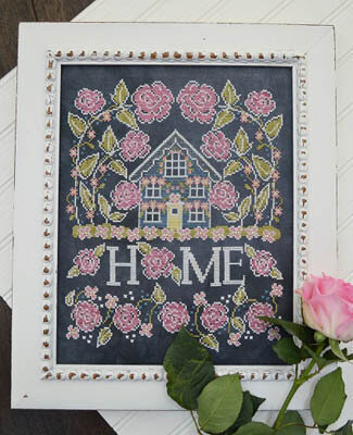 Rose Cottage - Cross Stitch Pattern