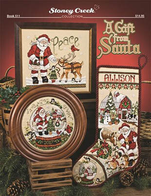 Gift from Santa - Cross Stitch Pattern