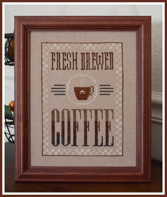 Fresh Brewed Coffee - Cross Stitch Pattern