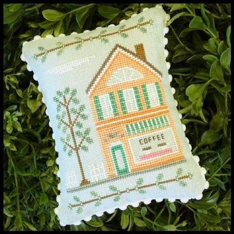 Main Street Coffee Shop - Cross Stitch Pattern