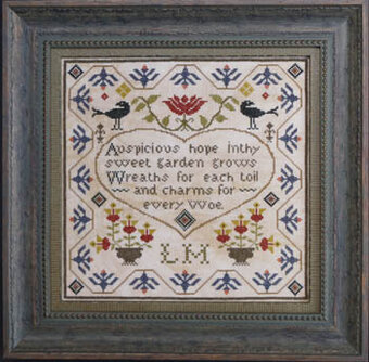 Auspiscious Hope - Cross Stitch Pattern