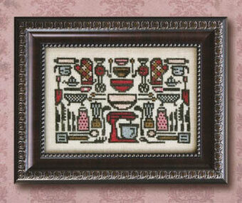 Arranging the Kitchen Aids - Cross Stitch Pattern