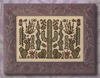 Arranging Cacti - Cross Stitch Pattern