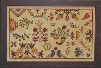 Autumn Quaker - Cross Stitch Pattern
