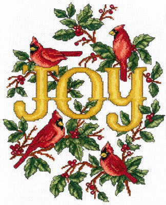 Cardinals Joy - Cross Stitch Pattern
