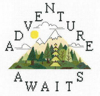 Adventure Awaits - Cross Stitch Pattern