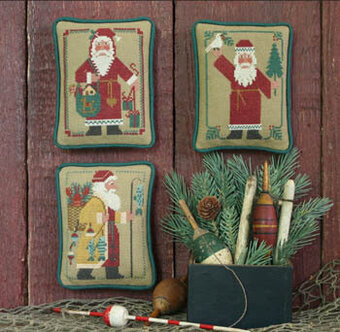Santas Revisted IV (1986, 1988, 1992) - Cross Stitch Pattern